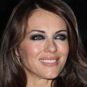 Movie actress Elizabeth Hurley - age: 56