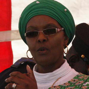 Political Wife Grace Mugabe - age: 55