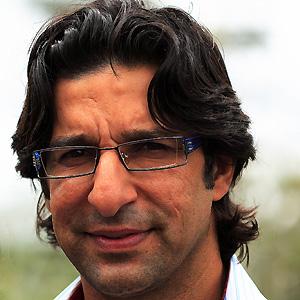Cricket Player Wasim Akram - age: 54