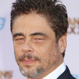 Movie Actor Benicio Del Toro - age: 53