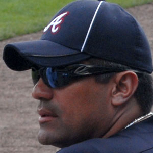 baseball player Eddie Perez - age: 53