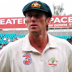 Cricket Player Glenn McGrath - age: 50