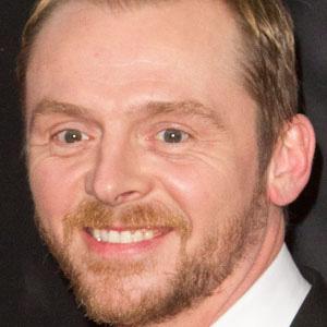 Movie Actor Simon Pegg - age: 48