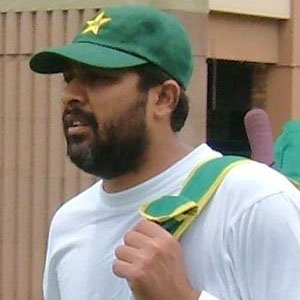 Cricket Player Inzamam-ul-Haq - age: 47