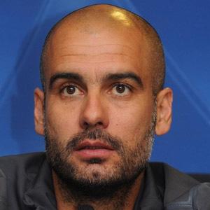 Soccer Player Pep Guardiola - age: 50