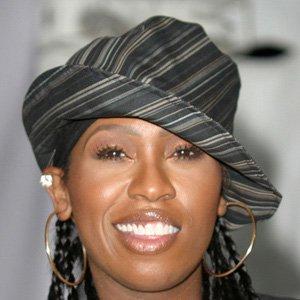 Rapper Missy Elliott - age: 49
