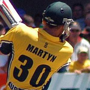 Cricket Player Damien Martyn - age: 45
