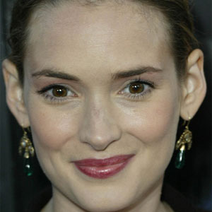 Movie actress Winona Ryder - age: 45