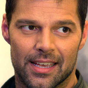 World Music Singer Ricky Martin - age: 45
