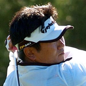 Golfer Yang Yong-eun - age: 49