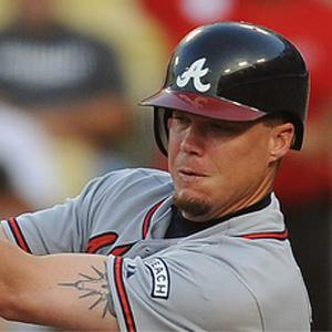 baseball player Chipper Jones - age: 48