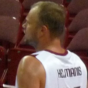 Basketball Player Uvis Helmanis - age: 48