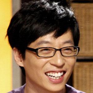 Comedian Yoo Jae-suk - age: 48