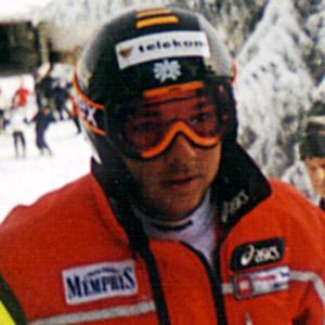Skier Fritz Strobl - age: 44