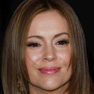 TV Actress Alyssa Milano - age: 48