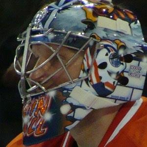 Hockey player Nikolai Khabibulin - age: 48