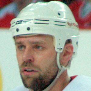 Hockey player Tomas Holmstrom - age: 47