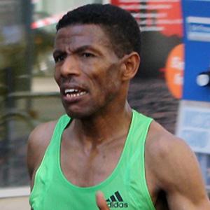 Runner Haile Gebrselassie - age: 47