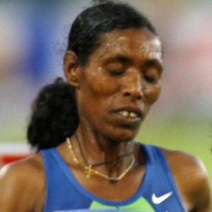 Runner Berhane Adere - age: 47