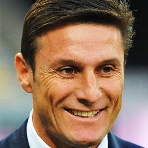 Soccer Player Javier Zanetti - age: 48