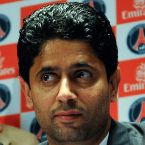 Male Tennis Player Nasser Al-Khelaifi - age: 47