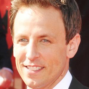 Comedian Seth Meyers - age: 47