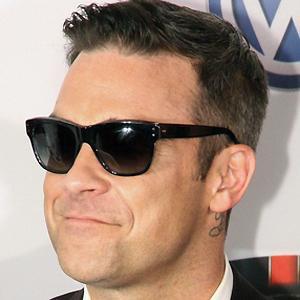 Pop Singer Robbie Williams - age: 47