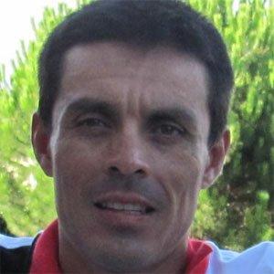 Cyclist Victor Hugo Pena - age: 42