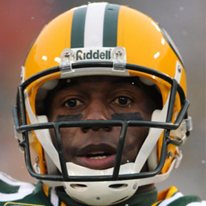 Football player Donald Driver - age: 45