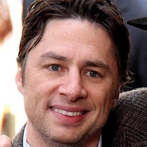 TV Actor Zach Braff - age: 45