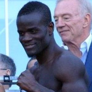 Boxer Joshua Clottey - age: 44