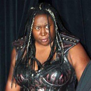 Wrestler Kia Stevens - age: 44