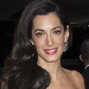 Lawyer Amal Clooney - age: 43