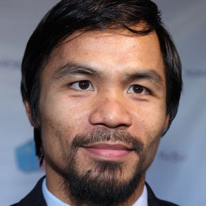 Boxer Manny Pacquiao - age: 39