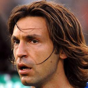 Soccer Player Andrea Pirlo - age: 42