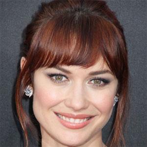 Movie actress Olga Kurylenko - age: 37
