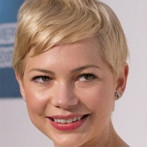 Movie actress Michelle Williams - age: 36