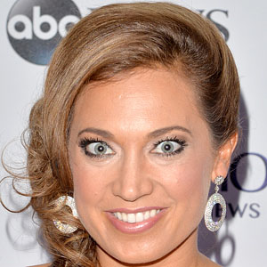TV Show Host Ginger Zee - age: 40
