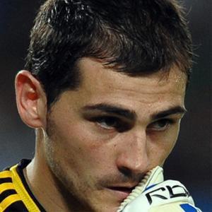 Soccer Player Iker Casillas - age: 36