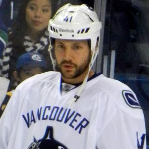 Hockey player Andrew Alberts - age: 35