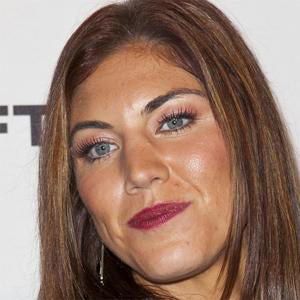 Soccer Player Hope Solo - age: 39