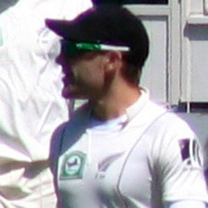 Cricket Player Brendon McCullum - age: 39