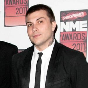 Guitarist Frank Iero - age: 35