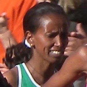 Runner Werknesh Kidane - age: 39