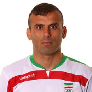 Soccer Player Jalal Hosseini - age: 38