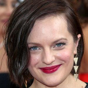 TV Actress Elisabeth Moss - age: 39