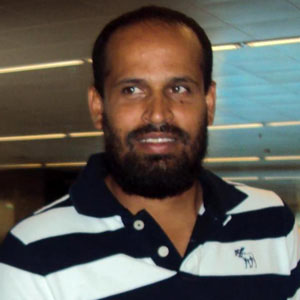 Cricket Player Yusuf Pathan - age: 34
