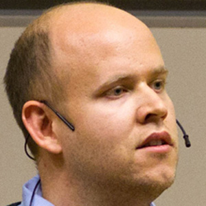 Entrepreneur Daniel Ek - age: 34