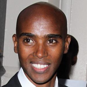 Runner Mo Farah - age: 37