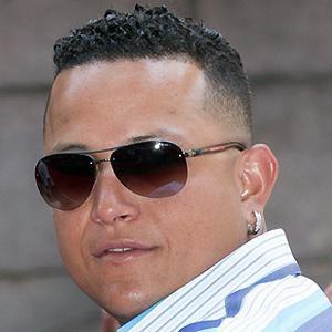 baseball player Miguel Cabrera - age: 37